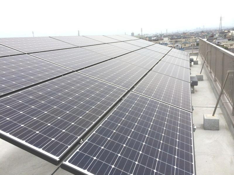 松原市 アイ様 太陽光発電システム設置工事