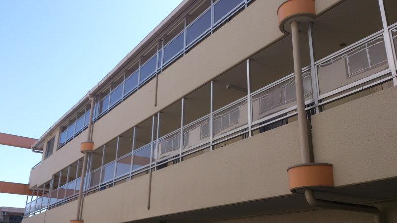 尼崎市 クレール西町マンション オーナー様 目隠しフェンス設置工事